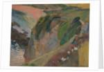 The Flageolet Player on the Cliff, 1889 by Paul Eugéne Henri Gauguin