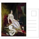 Joséphine de Beauharnais, the first wife of Napoléon Bonaparte (1763-1814) in Coronation costume by Francois Pascal Simon Gerard