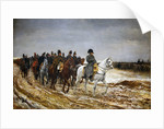 1814. Campagne de France (French Campaign) by Ernest Jean Louis Meissonier