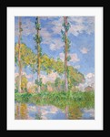 Poplars in the Sun by Claude Monet