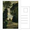 Walk (Road of the Farm Saint-Siméon), 1864 by Claude Monet