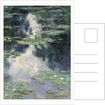 Pond with Water Lilies, 1907 by Claude Monet