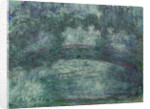 The Japanese bridge, 1919-1924 by Claude Monet