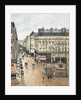 Rue Saint-Honoré in the Afternoon. Effect of Rain by Camille Pissarro