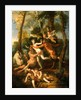 Pan and Syrinx, 1637 by Nicolas Poussin