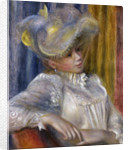 Woman with a Hat (Femme au chapeau) by Pierre-Auguste Renoir