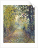 In the Woods, c. 1880 by Pierre Auguste Renoir