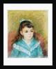 Portrait of a Young Girl (Elisabeth Maître) by Pierre-Auguste Renoir