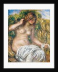 Woman by Spring by Pierre-Auguste Renoir