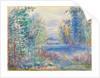 River Landscape, 1890 by Pierre Auguste Renoir