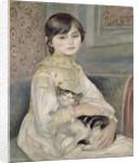 Julie Manet by Pierre-Auguste Renoir