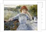 Alphonsine Fournaise by Pierre-Auguste Renoir