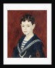 Fernand Halphen as a Boy by Pierre-Auguste Renoir