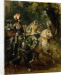 Cavalcade, ca 1842 by Horace Vernet