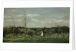 Spring Landscape, 1862 by Charles-François Daubigny