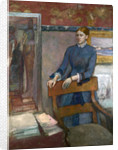 Hélène Rouart in her Father's Study by Edgar Degas