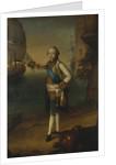 Portrait of Grand Duke Pavel Petrovich in Admiral Uniform, 1769 by Nicolas Benjamin Delapierre