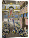 The Coronation of Napoleon on December 2, 1804 by French Master