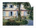 The House at Rueil by Edouard Manet