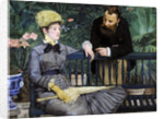 In the Winter Garden by Edouard Manet