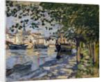 Seine at Rouen by Claude Monet