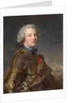 Portrait of Pierre Victor, baron de Besenval de Brünstatt, Second Half of the 18th cen by Jean-Marc Nattier
