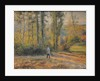 Landscape with a Hunter, Pontoise (Paysage à Pontoise avec un chasseur), 1879 by Camille Pissarro