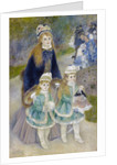 Mother and Children (La Promenade) by Pierre-Auguste Renoir