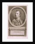 Portrait of Denis Diderot (1713?1784) by Augustin de Saint-Aubin