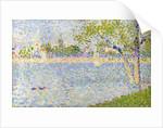 The Seine seen from La Grande Jatte by George Pierre Seurat
