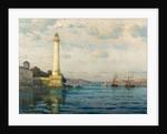 Ahirkapi Feneri Lighthouse, Early 20th cen by Michael Zeno Diemer