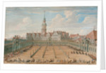 Parade of the Ladies Ring Races on Juny 6, 1709 in Dresden, 1710 by C. H. Fritzsche