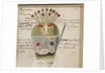 Alchemical notebook, c. 1620 by Johann Grasshoff