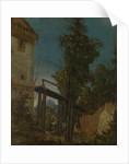 Landscape with a Footbridge, ca 1518 by Albrecht Altdorfer