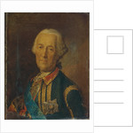 Portrait of the field marshal and politician Count Burkhard Christoph von Munnich, 1764 by Heinrich Buchholz