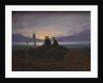 Moonrise over the Sea, 1822 by Caspar David Friedrich
