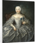 Portrait of Countess Varvara Alexeyevna Sheremetyeva, 1746 by Georg-Christoph Grooth