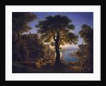 Castle by the River, 1820 by Karl Friedrich Schinkel