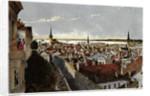 View of Reval, ca 1855 by Wilhelm Siegfried Stavenhagen