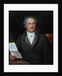Portrait of the author Johann Wolfgang von Goethe by Joseph Karl Stieler