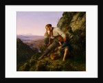 The Robber and His Child, 1832 by Carl Friedrich Lessing
