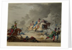 The Flight of Bonaparte from the Battle of Krasnoi, 1815 by Thomas Sutherland
