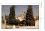 The Villa Malta, Rome, 1860s by Frederic Leighton