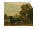 A Gentleman driving a Lady in a Phaeton, 1787 by George Stubbs