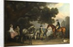 The Milbanke and Melbourne Families, ca 1769 by George Stubbs