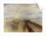 Rain, Steam, and Speed. The Great Western Railway by Joseph Mallord William Turner
