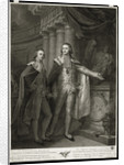 Portrait of Grand Dukes Alexander Pavlovich and Constantine Pavlovich of Russia, 1797 by James Walker