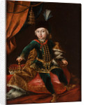 Portrait of Emperor Joseph II as child by Martin van Meytens the Younger