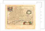 Map of Russia by Willem Janszoon Blaeu