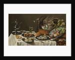 Still Life with Turkey Pie, 1627 by Pieter Claesz